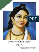 Prayers in Praise of Nitai