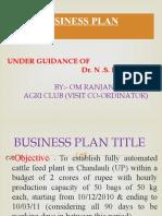 om ranjan business plan for agri club