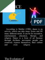 UNIT 1 DANCE