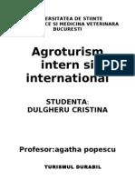 AGROTURISM INTERN SI INTERNATIONAL