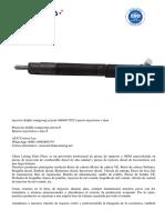 inyector delphi ssangyong actyon A6640170221 precio inyectores c max