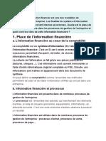 information financiere