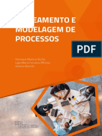 Mapeamento de Modelagem de processos