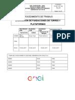 PTS-P-441-OC-06  EXCAVACION DE FUNDACIONES PARA TORRES Y PLATAFORMAS.coment RQ