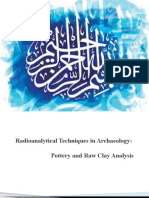 Radioanalytical Techniques in Archaeology