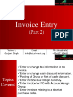 19 Invoice Entry 2