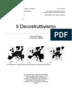 De Panicis Enrico - Il Decostruttivismo