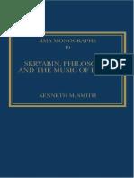 Scriabin, la filosofía y la música del deseo - Introducción -Español e Inglés- corregido.pdf