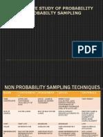 Comparative study of Sampling techniques