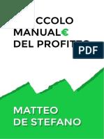 Il Piccolo Manuale del Profitto - Matteo De Stefano.pdf