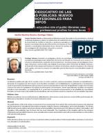 P1 - Papel socioeducativo de las bibliotecas públicas, nuevos perfiles profesionales para nuevos tiempos
