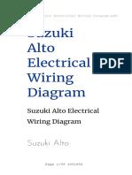 Suzuki Alto Electrical Wiring Diagram
