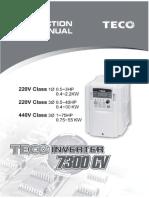 Manual Inverter 7300CV