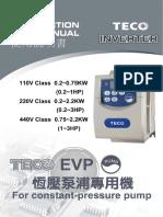 Manual Inverter EVP
