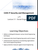 3_C235 LP1 Lecture 3.1 - Social Engineering