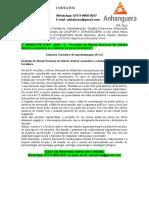 """2° SEMESTRE STSP - 2020 - 2 - """"Incêndio do Museu Nacional de Jubaba destrói a memória e a história do povo brasileiro""""."""