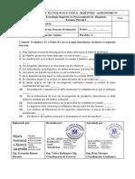 Examen Parcial I_TITULACION