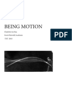 Being Motion, easy-read