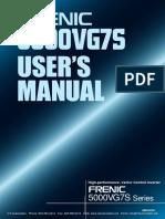 Fuji Frenic 5000vg7s Users Manual