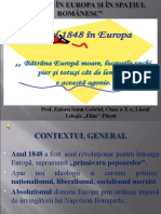 PREZENTARE ANUL 1848 ÎN EUROPA CLS. 10.ppt