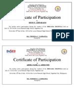 Certificate of Paticipation-Brigada