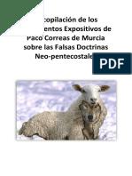 Las Falsas Doctrinas Neo-pentecostales. Paco Correas de Murcia