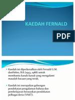 KAEDAH FERNALD