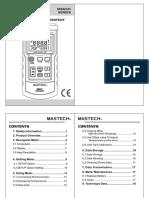 MS6511 Manual