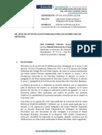SOBRESEIMIENTO DE RONALD PORTOCARRERO