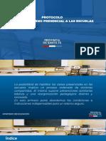 PROTOCOLO PARA EL RETORNO PRESENCIAL A LAS ESCUELAS (1)