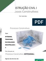 CONSTRUÇÃO CIVIL I - MÓDULO II