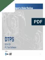 DTPS FAQ - Import a Robot Backup