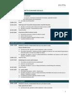 Agenda - Antreprenor in Economia Sociala