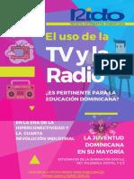 ¿Es pertinente el uso de la radio y la TV para la educación dominicana en la era de la Hiperconectividad y la Cuarta Revolución Industrial?