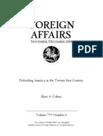 cohen_2000_Defending America in the Twenty-first Century