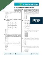 RAZONAMIENTO MATEMÁTICO - CLASE MODELO