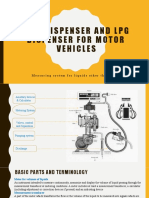 FUEL DISPENSER AND LPG DISPENSER FOR MOTOR VEHICLES