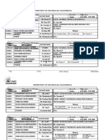 Class Time Table Template updated 2