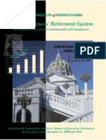 Cwopa Sers Comprehensive Annual Financial Report 1999