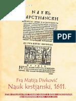 Fra Matija Divković, Nauk krstjanski, 1611.