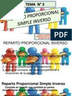GUIA 3 REPARTO PROPORCIONAL SIMPLE INVERSO