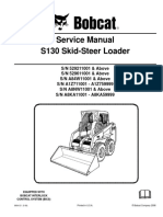 SM--BOBCAT S130 SKID STEER LOADER Service Repair Manual (SN 529211001 & Above; SN-abc