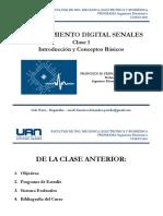 01 Procesamiento Digital de Senales - Introducción al DPS