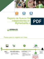 Manual Registro De Herbalife 2020