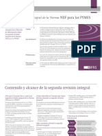 Snapshot Comprehensive Review Ifrs for Smes Spanish