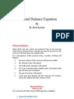 2-Material balance-oil