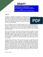 Memorandum of Understanding between Child Welfare / Community Service Providers - Florida - (2004).