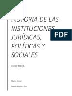 Historia de las Instituciones Jurídicas, Políticas y Sociales Chilenas - Andrea Botto