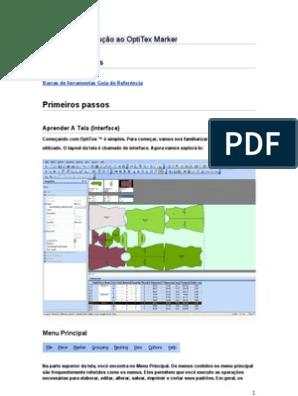 PRIMEIROS PASSOS - OPTITEX | Janela (Computação) | Teclado