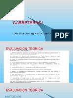 Presentación  y Resolucion SEGUNDA EVALUACION
